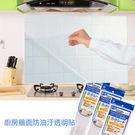 廚房牆面防油汙透明貼紙