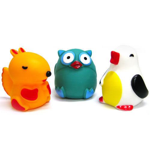 【奇買親子購物網】藝寶 動物洗澡玩具組(松鼠/企鵝/貓頭鷹)