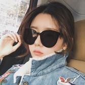 2018新款墨鏡女韓版偏光太陽鏡明星網紅同款復古原宿風gm眼鏡     俏女孩