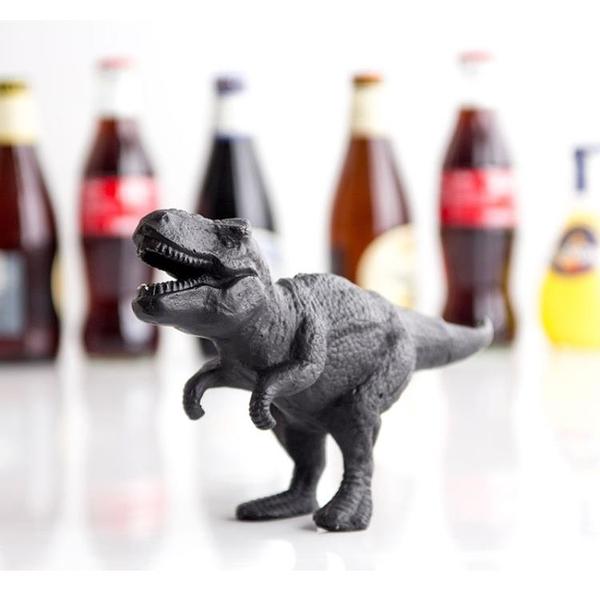 英國Suck UK 創意恐龍造型暴龍啤酒汽水開瓶器 廚房實用工具擺件