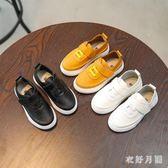 秋季兒童休閑皮鞋女童軟底單鞋潮sd1911【衣好月圓】