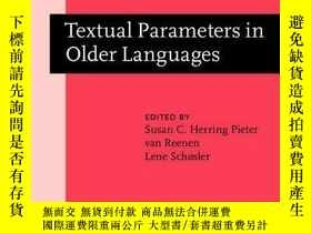 二手書博民逛書店Textual罕見Parameters In Older Lan