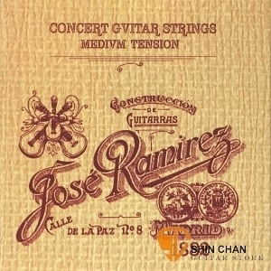 【缺貨】【古典吉他弦】 【Jose Ramirez】 (中張力)【Medium Tension】  米色盒 古典弦專賣店/尼龍弦