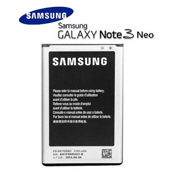【YUI】SAMSUNG EB-BN750BBC 原廠電池 3100mAh Galaxy Note 3 Neo 原廠電池 N7505/N7507 原廠電池