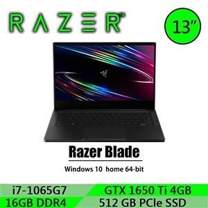 【綠蔭-免運】雷蛇Razer Blade Stealth RZ09-03102T22-R3T1 13.3吋 電競筆記型電腦-無包包滑鼠