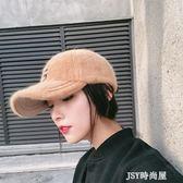 韓國ins鴨舌帽女韓版百搭學生街頭秋冬季字母棒球帽防曬遮陽帽子   JSY時尚屋