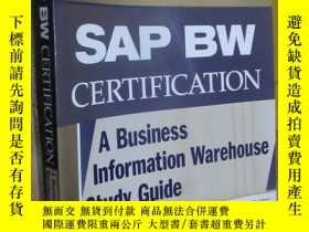 二手書博民逛書店Sap罕見Bw Certification: A Business Information Warehouse S