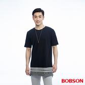 BOBSON  男款長版造型上衣(26031-88)