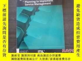 二手書博民逛書店Planning罕見to Implement Service M