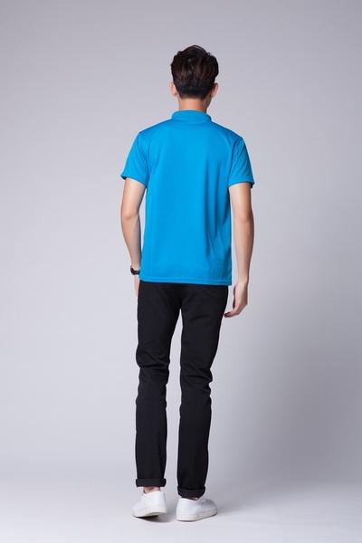 品客安琪 玫紅色 黑色 彩藍色-吸濕排汗輕柔舒適POLO衫美國精細棉