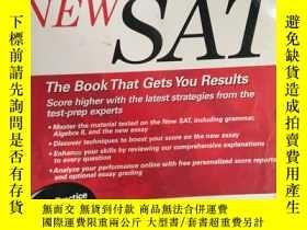 二手書博民逛書店罕見外文書 Cracking the NEW SAT, 2005