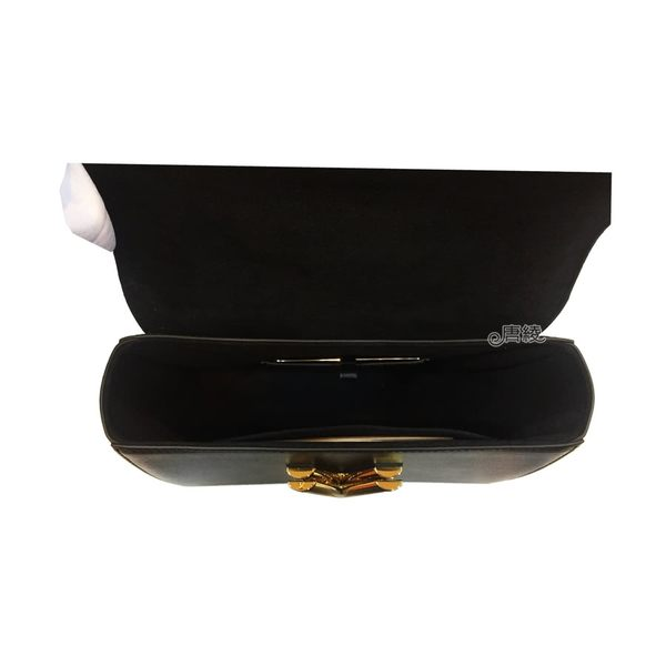 【Louis Vuitton 路易威登】M44214 TWIST MM系列經典Monogram帆布印花牛皮鑲飾LOGO轉釦牛皮肩/斜背包(黑)