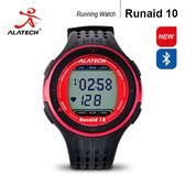 大毛生活館●ALATECH Runaid10 藍牙跑步運動錶 (紅黑)