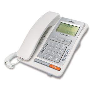 ^聖家^歌林來電顯示型有線電話機~白色 KTP-703L 【全館刷卡分期+免運費】