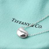 Tiffany&Co.正品 全新Elsa Peretti經典系列 優雅相思豆純銀項鍊