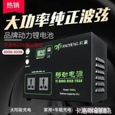 戶外行動電源220v筆記本充電寶大容量便攜大功率蓄電池應急太陽能 MKS極速出貨