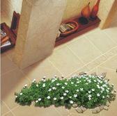 3D地貼 客廳地貼紙店鋪裝飾3d立體貼防水耐磨臥室墻貼花草3d地板貼紙 jy