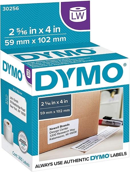 [9美國直購] 標籤紙 DYMO Authentic LW Large Shipping Labels LabelWriter (2-5/16吋 x 4) B00004Z64O