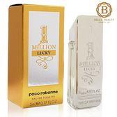 Paco Rabanne 百萬Lucky男性淡香水 5ml 小香《Belle 倍莉小舖》62893