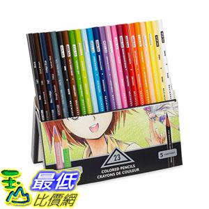 [104美國直購] Prismacolor 1774800 Premier Soft Core Colored Pencil, Set of 23 Assorted Manga Colors 色鉛筆