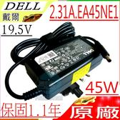 DELL 變壓器(原廠)戴爾 19.5V,2.31A,45W,14-7000,14-7437,11-2147,13-7348,13-7347,ADP-45MH,GM456,CR397