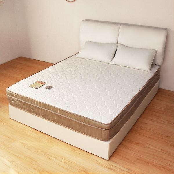 記憶蜂巢三線獨立筒床墊/雙人加大6尺/H&D東稻家居