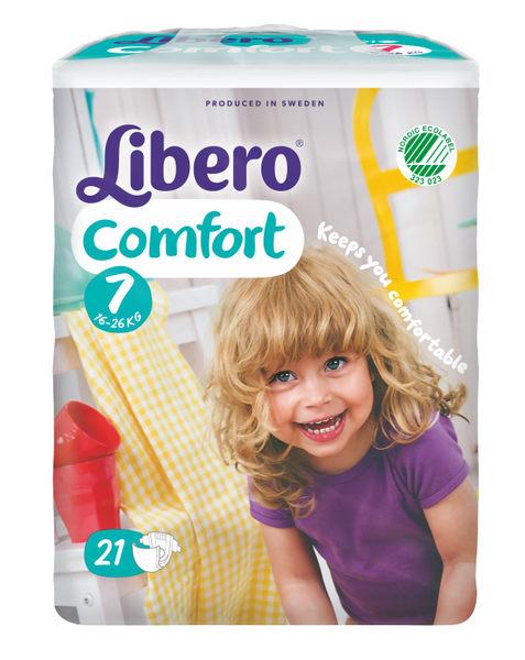 Libero 麗貝樂 嬰兒紙尿褲XXXL【7號-21片】