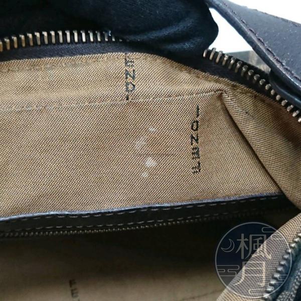 BRAND楓月 FENDI FF帆布 金具 單肩背包