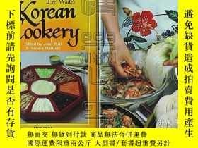 二手書博民逛書店美國原版-Lee罕見Wade s Korean Cookery※