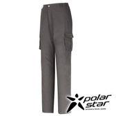 PolarStar SUPPLEX抗UV可調長褲 女『鐵灰』 直筒褲│釣魚褲│露營│防曬褲 P16346
