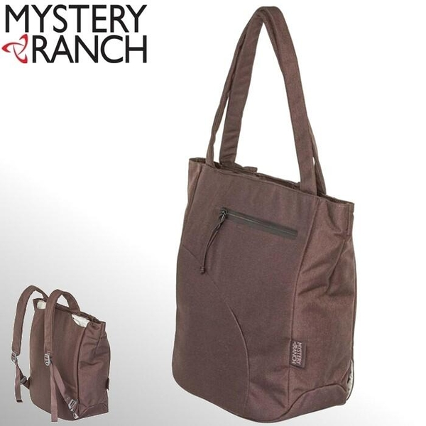 『VENUM旗艦店』Mystery Ranch 神秘農場 托特包/側肩包/後背包/三用式背法Ramble Tote 12L 61182 咖啡