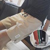 薄款五分休閒短褲男士加肥大尺碼哈倫運動褲正韓潮流男褲子
