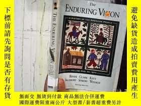 二手書博民逛書店THE罕見ENDURING VISION 持久的視覺 16開本