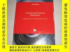二手書博民逛書店Contact罕見and Fracture Mechanics【773】接觸斷裂力學?Y10970 edite