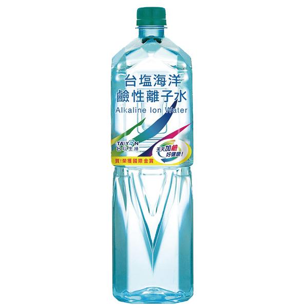 <免運/聯新貨運>台鹽(台塩)海洋鹼性離子水(1500ml/12瓶)*10箱