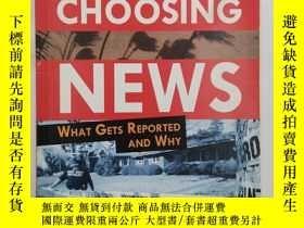 二手書博民逛書店Choosing罕見News: What Gets Report