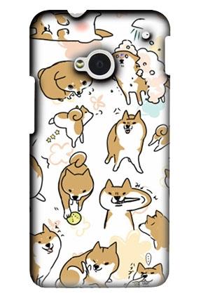 [M7 軟殼] HTC new One M7 801e 801s 手機殼 保護套 外殼 日本柴犬