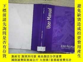 二手書博民逛書店user罕見manual 用戶手冊Y203004