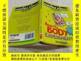二手書博民逛書店HORRIBLE罕見SCIENCE Beastly Body EXPERIMENTS《可怕的科學動物身體實驗》