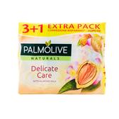 荷蘭Palmolive棕欖潤膚香皂-牛奶杏仁(90g*4/組)*9