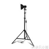 攝影燈 小型攝影燈主播電腦直播拍照補光燈淘寶高清手機打光自拍神器LX    非凡小鋪