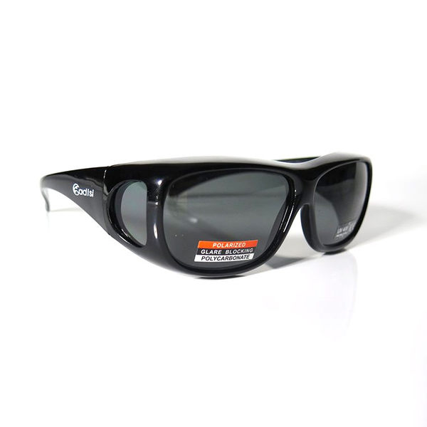 ADISI 偏光太陽眼鏡 ST-1393 / 城市綠洲 (專為眼鏡族設計、套鏡、護目鏡、單車眼鏡)