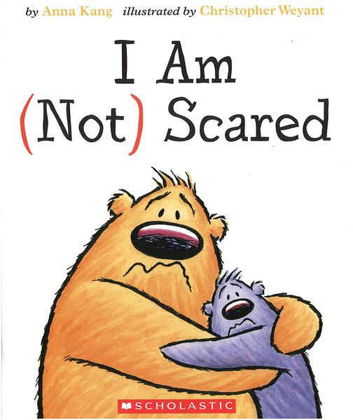 【麥克書店】I AM NOT SCARED /英文繪本《主題: 幽默.友誼》
