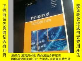 二手書博民逛書店Principles罕見of Taxation LawY7876