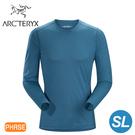 【ARC TERYX 始祖鳥 男 Phase SL 輕量內層長袖圓領衫《神話綠》】16255/超輕薄/透氣快乾/吸濕排汗/內衣
