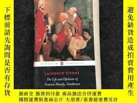 二手書博民逛書店The罕見Life And Opinions Of Tristram Shandy Gentleman (peng