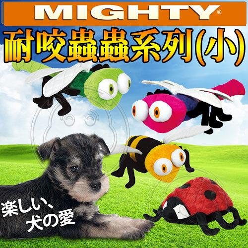 【培菓平價寵物網】美國Mighty》耐咬玩具蟲蟲系列(小)