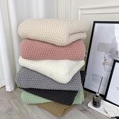 毛毯辦公室北歐沙發毯空調針織線披肩蓋毯小毯子【聚寶屋】