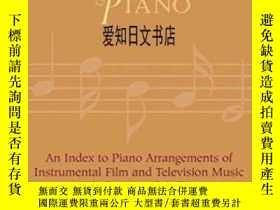 二手書博民逛書店【罕見】Film Music At The Piano 2003