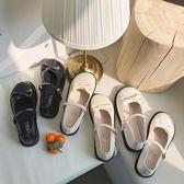 甜美蝴蝶結單鞋lolita圓頭娃娃鞋淺口可愛洛麗塔小皮鞋學生軟妹鞋 黛尼時尚精品